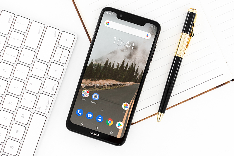 Giao diện Android One trên Nokia 5.1 Plus