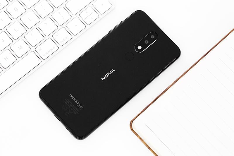 Thiết kế mặt lưng Nokia 5.1 Plus