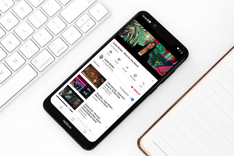 Khả năng hiển thị trên Nokia 5.1 Plus