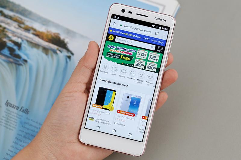 Màn hình điện thoại Nokia 3.1 16GB