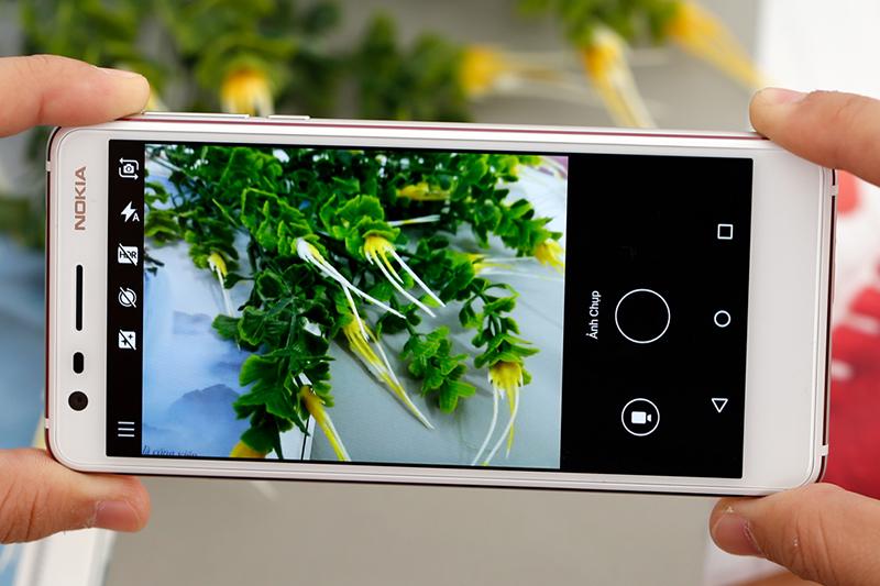 Giao diện camera điện thoại Nokia 3.1 16GB