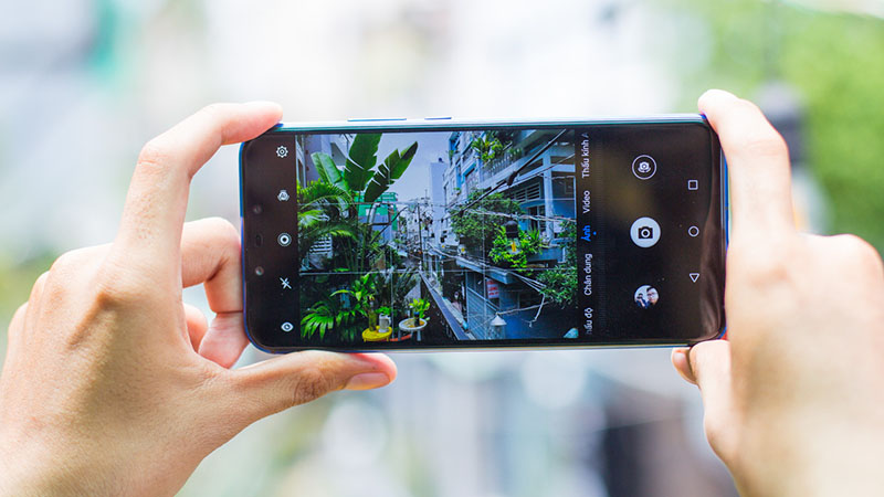 Camera sau của điện thoại Huawei Nova 3i
