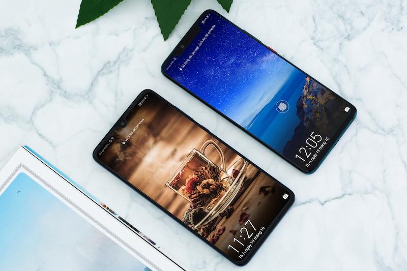 Màn hình của điện thoại Huawei Mate 20
