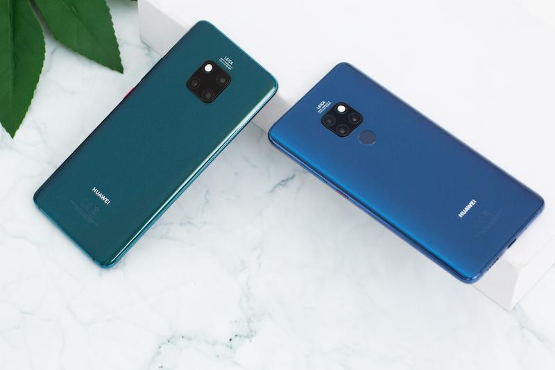 Thiết kế điện thoại Huawei Mate 20