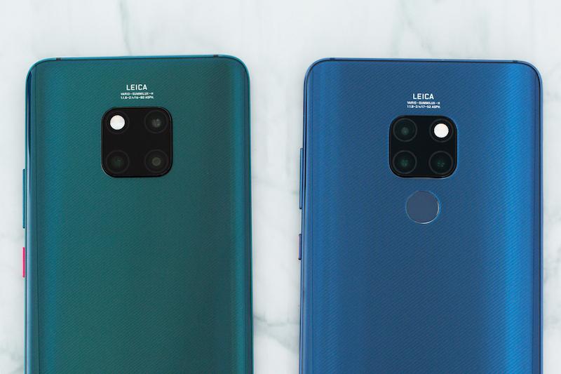 Camera sau điện thoại Huawei Mate 20