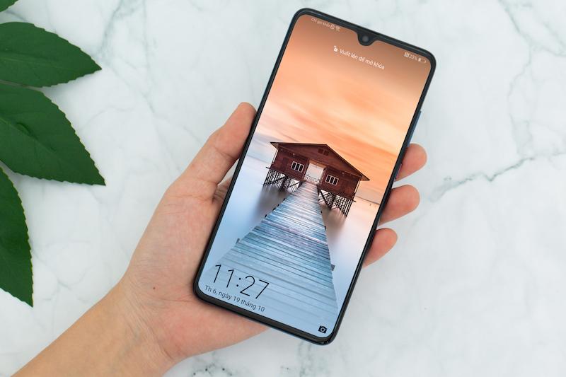 Bảo mật trên điện thoại Huawei Mate 20