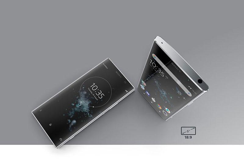 Màn hình của điện thoại Sony Xperia XA2 Plus