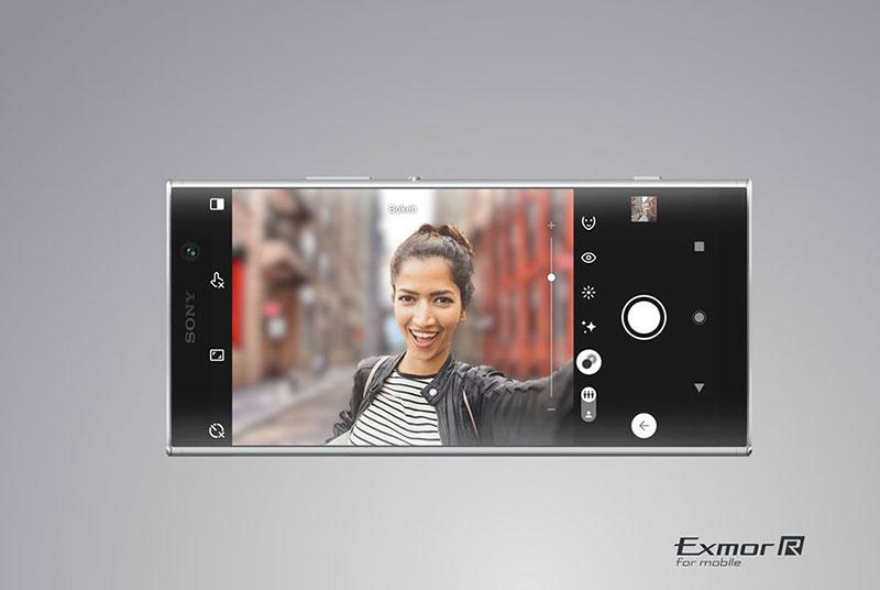Camera sau của điện thoại Sony Xperia XA2 Plus