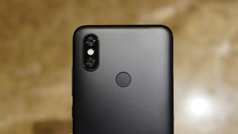 Camera sau của điện thoại Xiaomi Mi A2