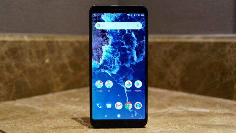 Màn hình của điện thoại Xiaomi Mi A2