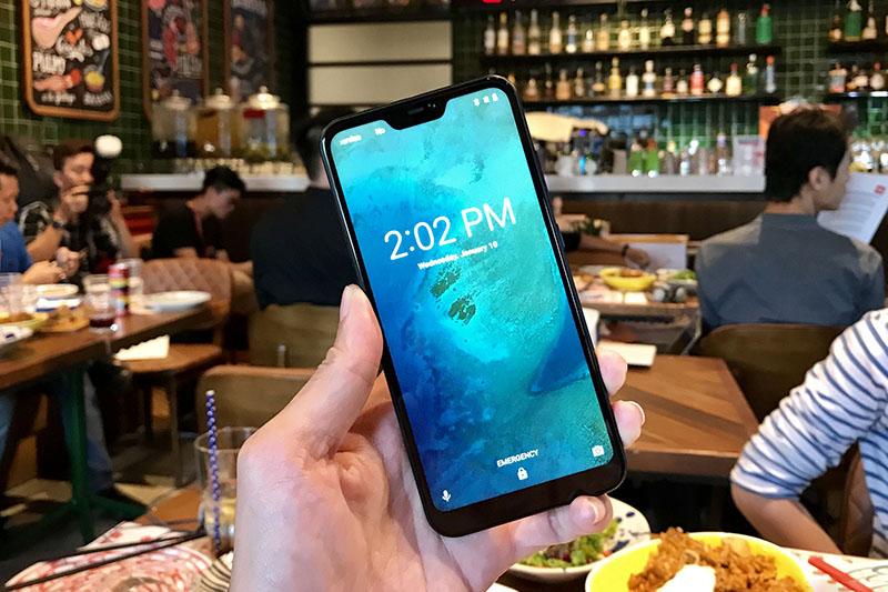 Màn hình của điện thoại Xiaomi Mi A2 Lite
