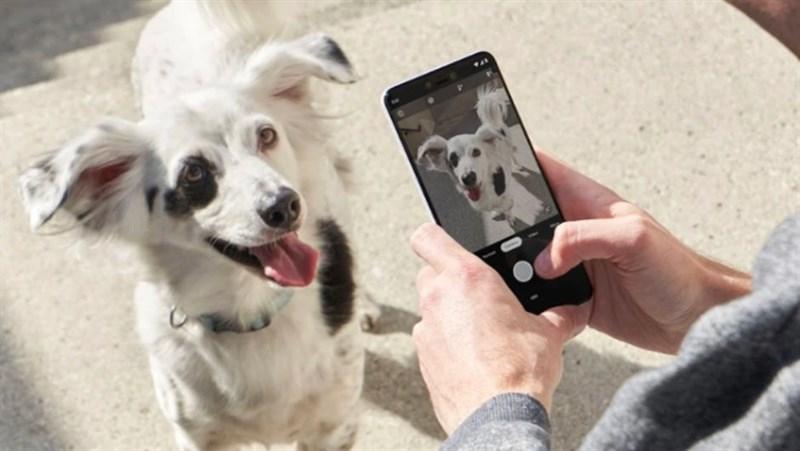 Camera sau của điện thoại Google Pixel 3