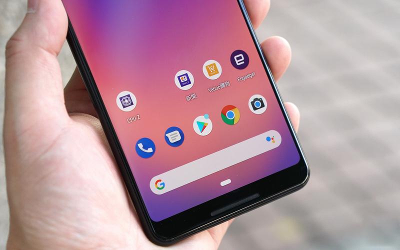 Cảm giác cầm nắm trên Google Pixel 3 XL