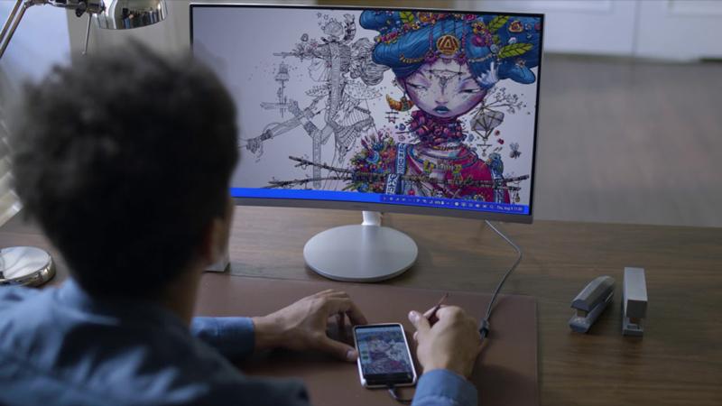 Dex HDMI kết nối với điện thoại Samsung Galaxy Note 9