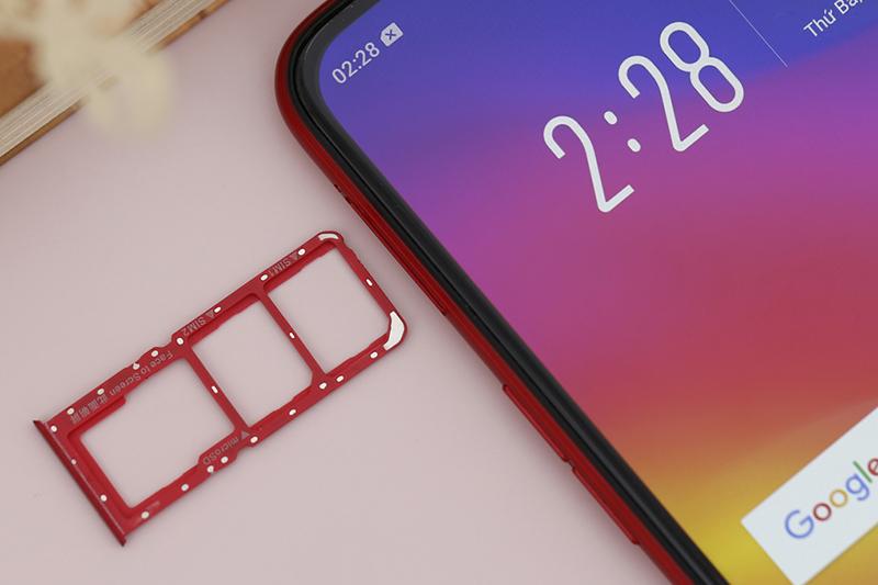 Thiết kế điện thoại OPPO A3s 32GB