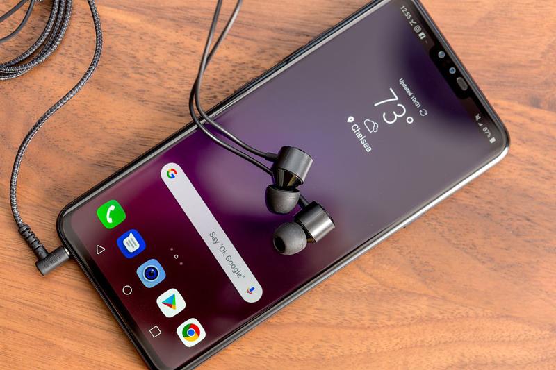 Hệ thống âm thanh của LG V40 ThinQ
