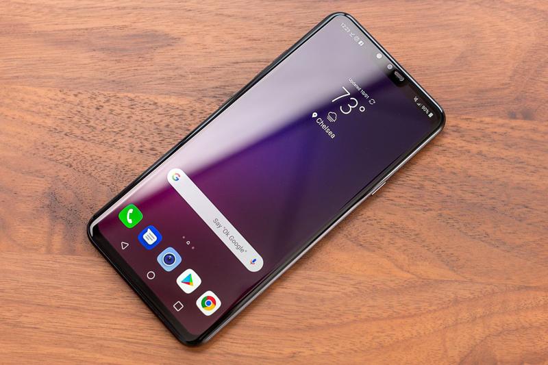 Chất lượng hiển thị của LG V40 ThinQ
