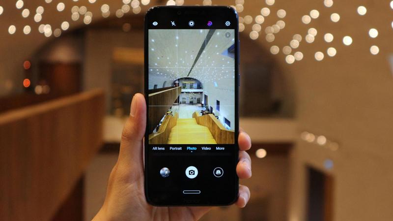 Camera trên điện thoại Honor Play