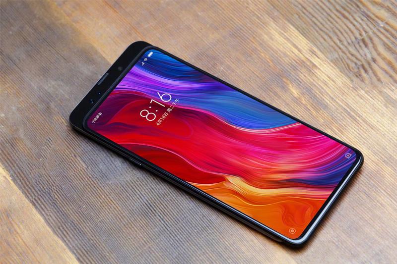 Thiết kế dang trượt trên Xiaomi MI MIX 3 chính hãng