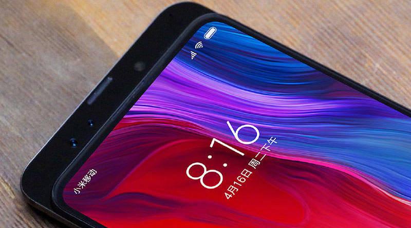 Camera trước trên Xiaomi MI MIX 3 chính hãng