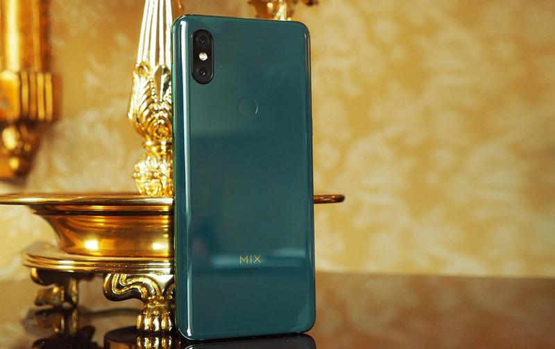 Camera sau trên Xiaomi MI MIX 3 chính hãng