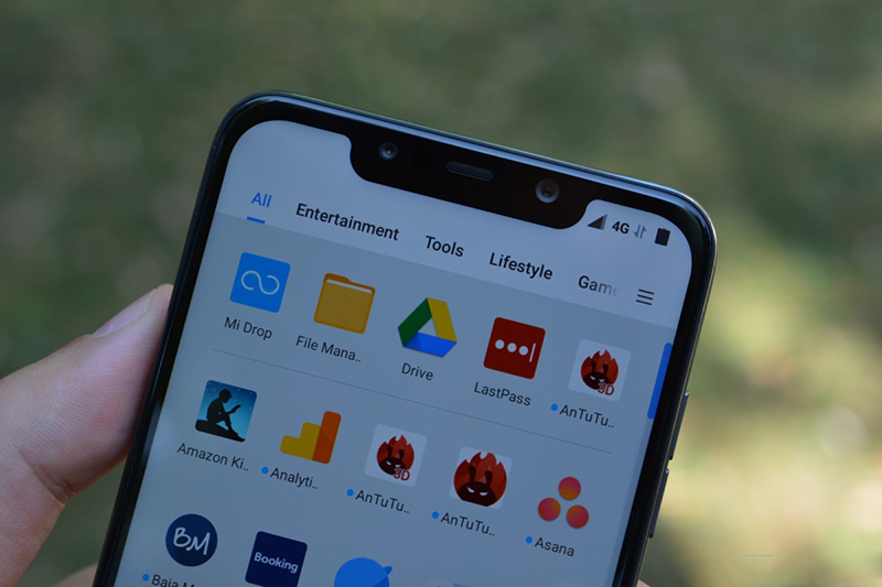 Cấu hình của điện thoại Xiaomi Pocophone F1