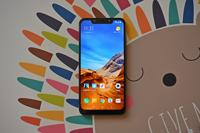 Màn hình của điện thoại Xiaomi Pocophone F1