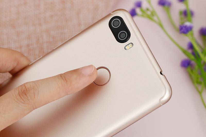 Cảm biến vân tay trên điện thoại Itel P32