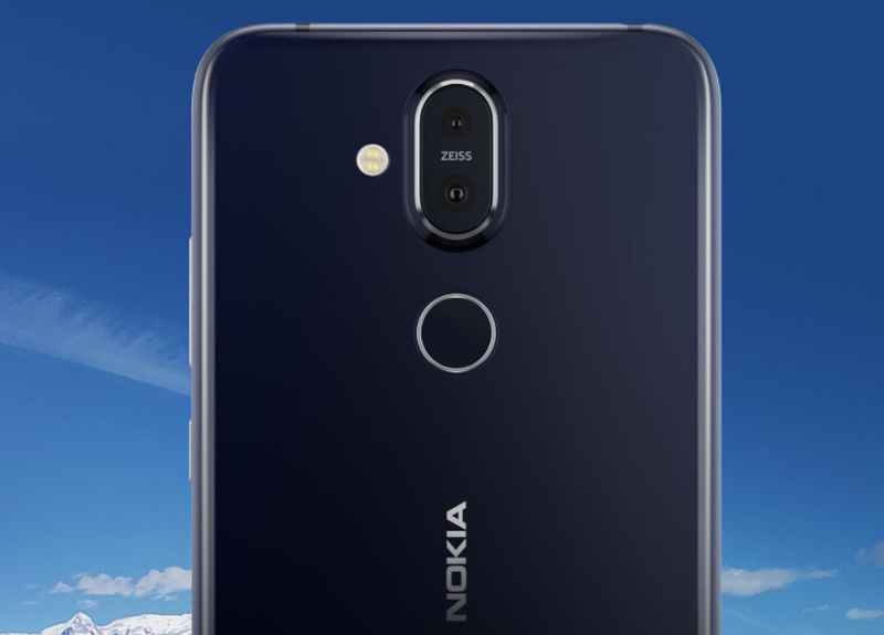 Cụm camera sau trên Nokia 7.1 Plus