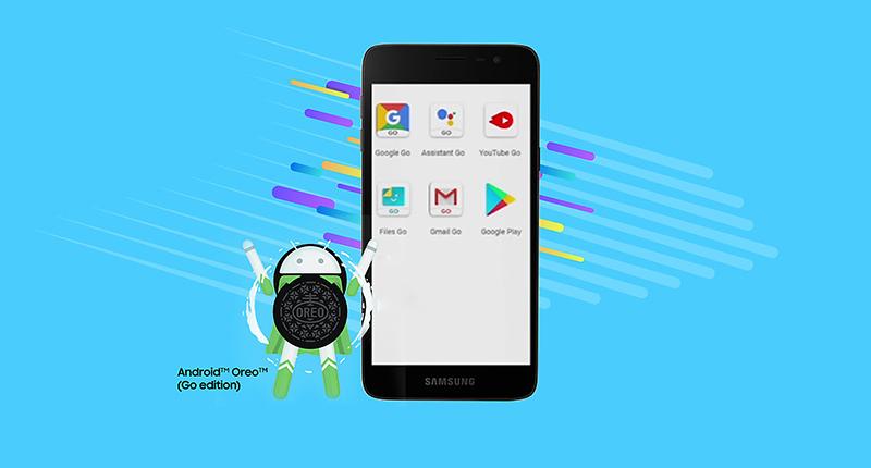 Android trên điện thoại J2 Core chính hãng