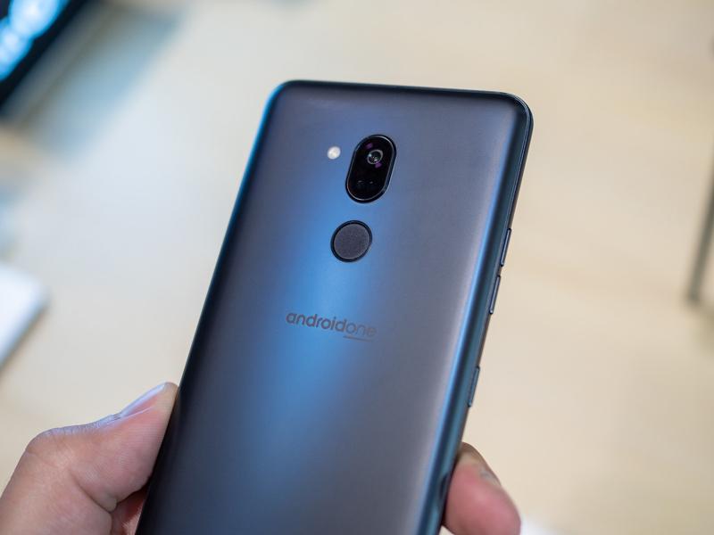 Thiết kế mặt lưng của điện thoại LG G7 One