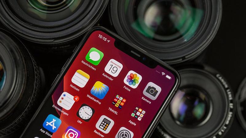 Điện thoại iPhone 11 Pro 64GB | Camera trước và cảm biên Face ID