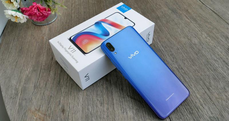 Thiết kế điện thoại Vivo V11