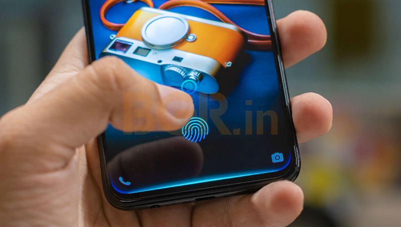 Cảm biến vân tay trong màn hình điện thoại Vivo V11