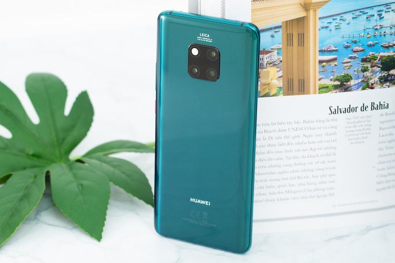 Thiết kế điện thoại Huawei Mate 20 Pro