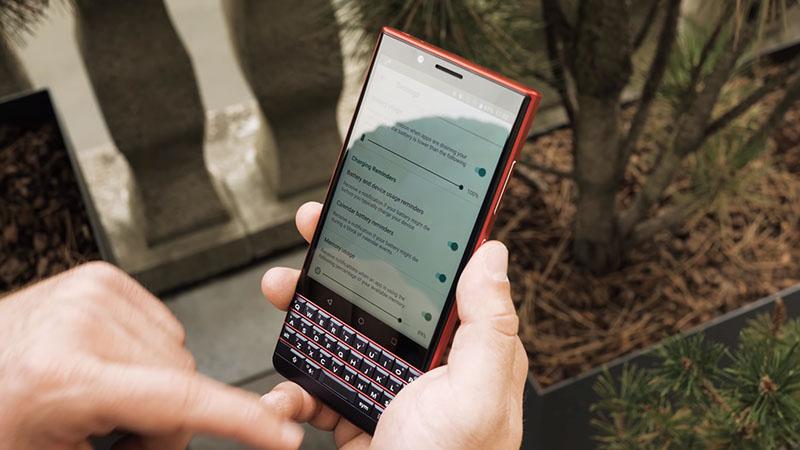 Cấu hình của điện thoại BlackBerry KEY2 LE