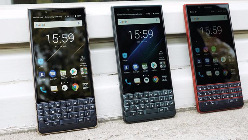Thiết kế điện thoại BlackBerry KEY2 LE