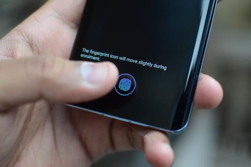 Cảm biến vân tay trên điện thoại Huawei P30 chính hãng