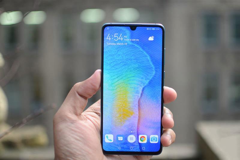 Cấu hình của điện thoại Huawei P30 chính hãng