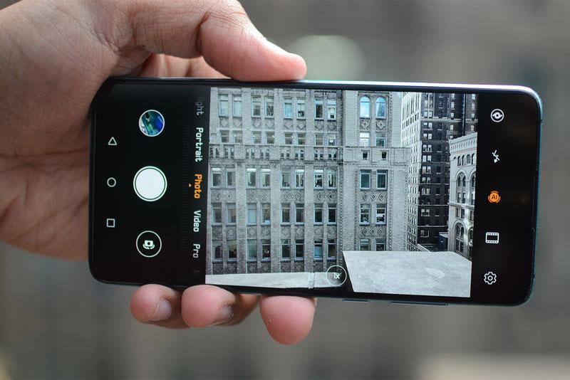 Camera sau của điện thoại Huawei P30 chính hãng