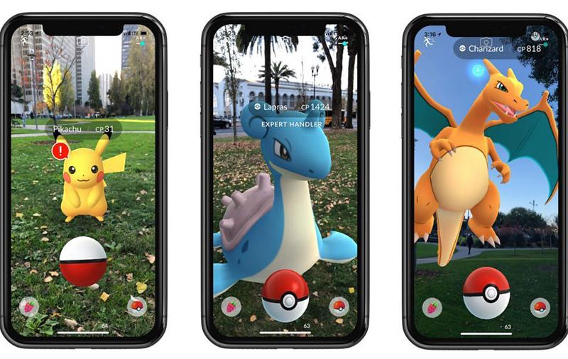 Chơi game trên điện thoại iPhone Xs Max chính hãng