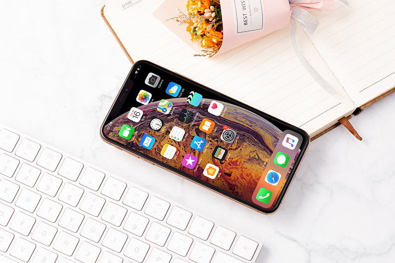 iphone xs max gold 4 Iphone xs Max 64Gb giá sốc tại Tabletplaza.vn