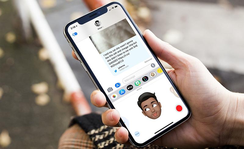 Animoji trên điện thoại iPhone Xs Max chính hãng