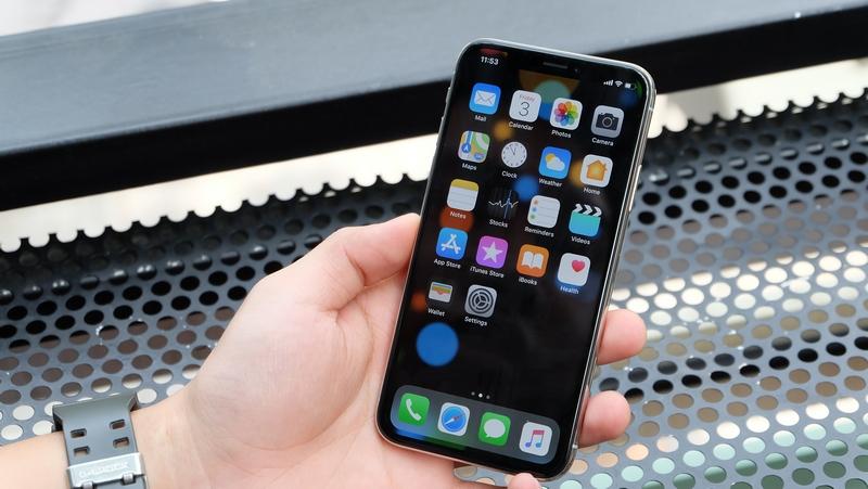 Phone - ទូរស័ព្ទ iPhone Xs 512GB - អេក្រង់