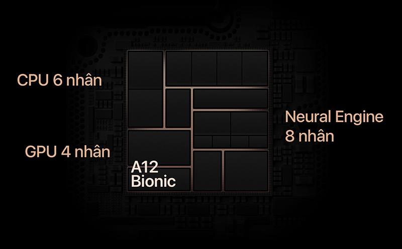 Chip A12 trên điện thoại iPhone Xs chính hãng