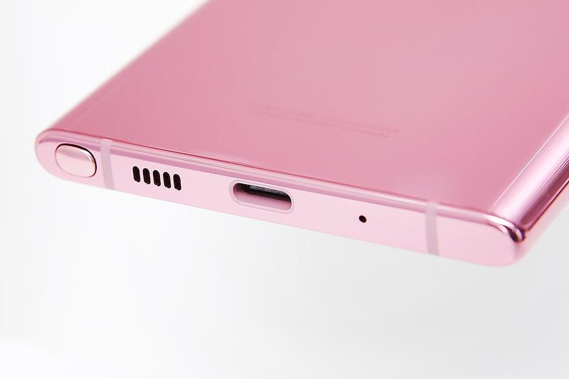 Điện thoại Samsung Galaxy Note 10 | Thiết kế phần khung
