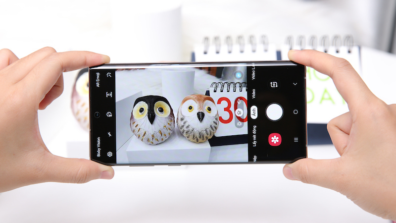 Điện thoại Samsung Galaxy Note 10 | Giao diện camera sau