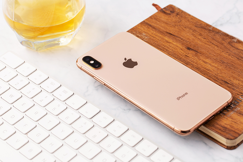 Phone - ទូរស័ព្ទ iPhone Xs Max 512GB - កាមេរ៉ាភ្លោះ