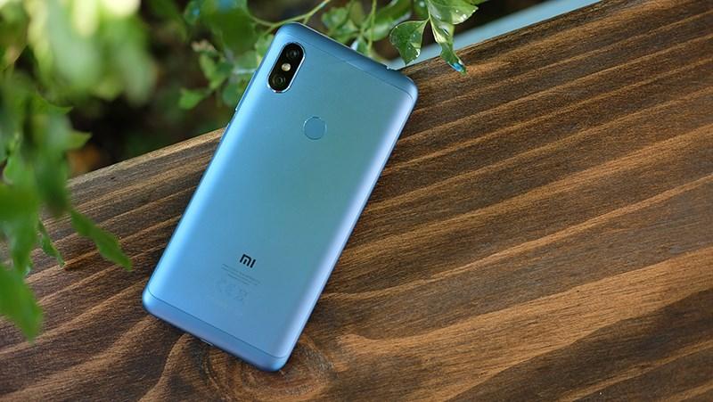 Thiết kế điện thoại Xiaomi Redmi Note 6 Pro