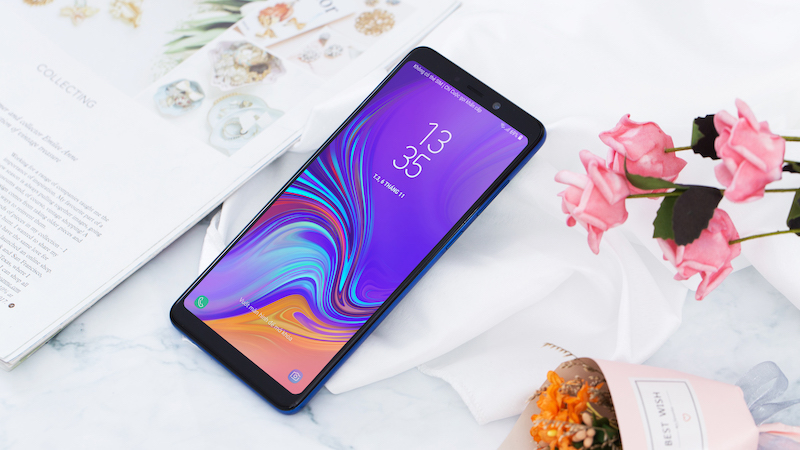 Camera trước điện thoại Samsung Galaxy A9 2018 chính hãng